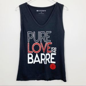 Pure Barre Black Tank Top
